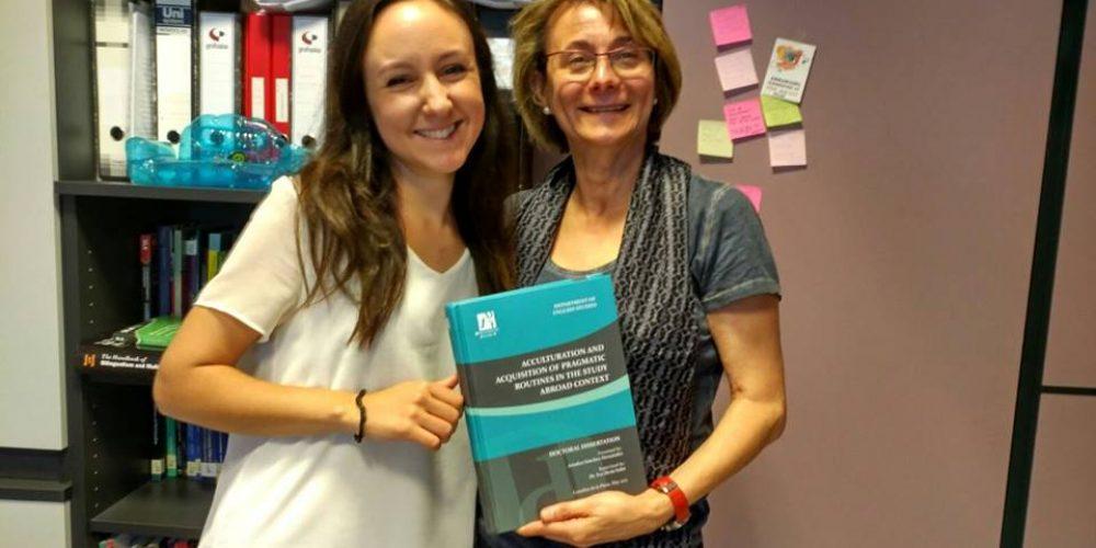 Defensa de la tesi doctoral d'Ariadna Sánchez
