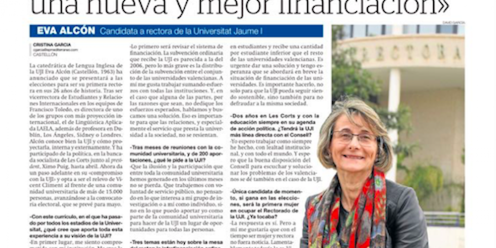 Entrevista en el Mediterráneo
