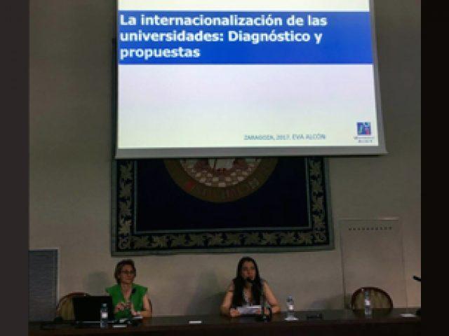 Jornada de Internacionalización en la Unizar